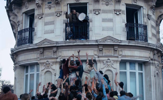 Париж. Город зомби