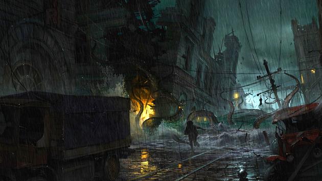 Игра The Sinking City