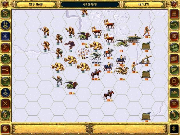 Оригинальная игра Fantasy General
