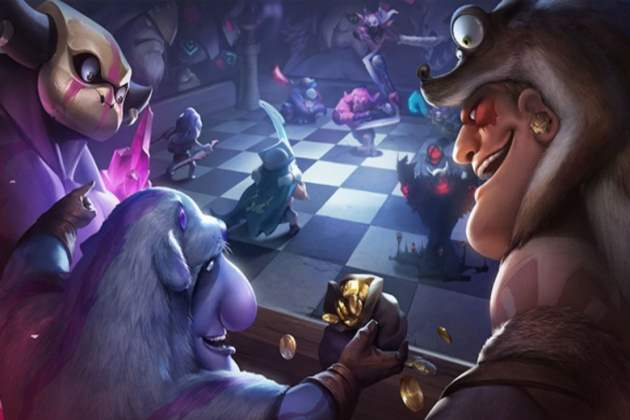 Dota Auto Chess mobile
