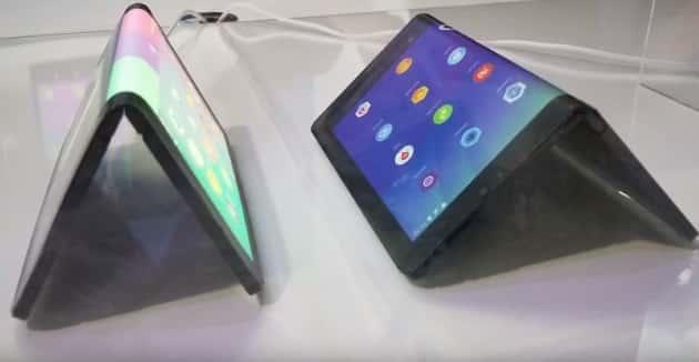 Компания Lenovo показала прототип ноутбука со складным экраном